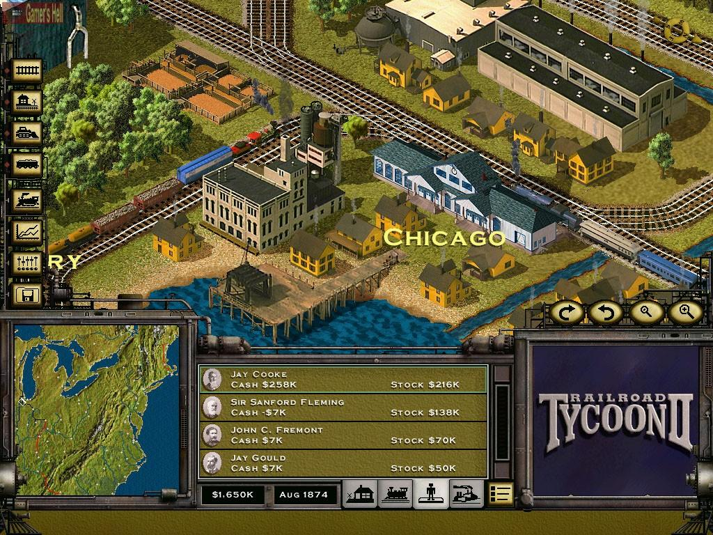 Railroad tycoon 2 (1998) pc review and full download | old pc gaming.